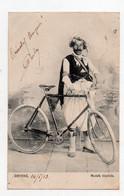 Smyrne. Mustafa Bicycliste. - Turkey