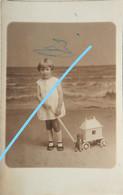 Photo OOSTENDE Photo De Studio Le Bon Kind Enfant Kust Circa 1930 - Lieux