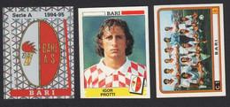 Stikers Panini 1994-95 1983-84 Calcio Football Bari Protti FAS00366 - Italian Edition