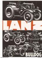 Transports Automobile Voitures Anciennes De Collection Lanz Bulldog - Voitures De Tourisme