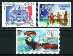 Nueva Caledonia Nº 996-997-1001 Nuevo - Nuovi