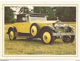 Transports Automobile Voitures Anciennes De Collection Rolls Royce Phantom I 1926 - Voitures De Tourisme
