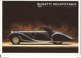 Transports Automobile Voitures Anciennes De Collection Bugatti Décapotable 1937 - Voitures De Tourisme