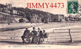 CPA - TROUVILLE En 1912 - Vue Prise De La Jetée-Promenade - 14 Calvados - N°150 - L L - Trouville