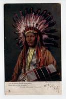 - CPA INDIENS - The Song Of Hiawatha 1904 - Photo Cavendish Morton - - Indiens De L'Amerique Du Nord