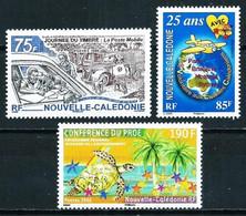 Nueva Caledonia Nº 984-985-986 Nuevo - Nuovi