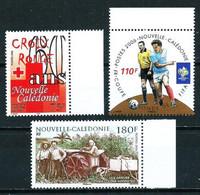 Nueva Caledonia Nº 973-975-977 Nuevo - Nuovi