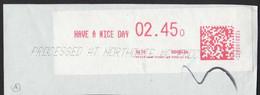 Australia EMA Meter Have A Nice Day Buona Giornata Bonne Journée AMR00054 - ATM/Frama Labels