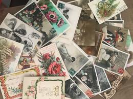 Lot De 100 CPA Fantaisie - 100 - 499 Cartoline