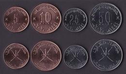 Set Of Oman 4 Coins 2020 - Oman