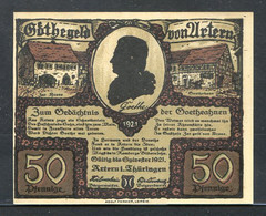 433-Artern 6x50pf 1921 - [11] Local Banknote Issues