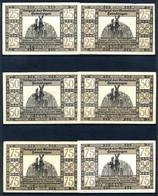 439-Hemdingen 2x25, 2x50 Et 2x75pf 1922 - [11] Local Banknote Issues