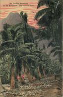 TAHITI  ILE De BORABORA  Le Pic Matainua  Iles Sous Le Vent - Tahiti