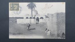 Tunisie Oblitération Bilingue De Gafsa Gare Sur CPA De Gafsa 1907 - Brieven En Documenten