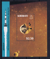 Kiribati Space 1999 30th Anniversary Fist Moonlanding - Apollo 11  Nice Sheet - Kiribati (1979-...)