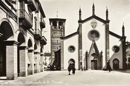 Cartolina - Pinerolo - Cattedrale Di S. Donato - 1950 Ca. - Sin Clasificación
