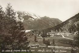 Cartolina - La Conca Di Ceresole Reale - Alberghi - 1960 Ca. - Sin Clasificación