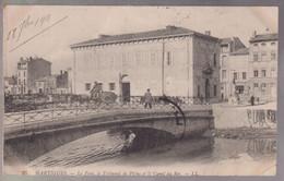 CPA Martigues  ( 13 ) - Le Pont, Le Tribunal De Pêche... - Circulée 1911 - Martigues