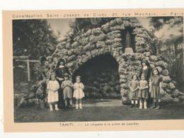 TAHITI )) Congrégation St Joseph De Cluny / Le Chapelet A La Grotte De Lourdes - Tahiti
