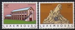 Luxemburg 1993 Tourism Y.T. 1266/1267 ** - Nuovi