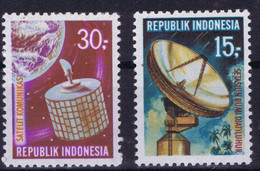 Indonesia Space 1969 Telecommunication, Syncom Satellite - Indonesia