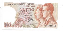 *belguim  50 Franc 1966 D' Haese  Unc  46a - Other