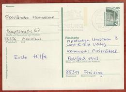 Ganzsache Zeche Zollern Dortmund, MS Coburg 1996 (4812) - Cartes Postales - Oblitérées