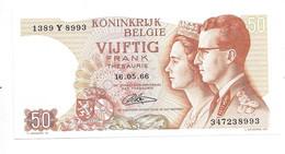 *belguim  50 Franc 1966 Lauwerijns  Unc 46d - Other