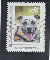 MONTIMBRAMOI LA SPA CHIEN OBLITERE - Personalized Stamps (MonTimbraMoi)