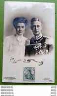 CPA - ALLEMAGNE - Guillaume De Hohenzollern Und Cécile De Mecklembourg Schwerin -  Photo Tirage Original Bieber Berlin - Royal Families