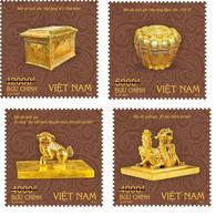 Vietnam Viet Nam MNH Perf, Imperf & Specimen Stamps 2021 : National Treasure Treasures : GOLD ITEMS (series 2) (Ms1145) - Vietnam