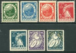 POLAND 1921 New Constitution MNH / **. Michel 164-70 - Ongebruikt