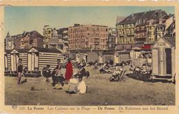 La Panne (Belgique) - Les Cabines Sur La Plage - De Panne