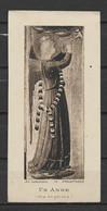 Image Pieuse Art Catholique N° 75  Un Ange - Fra Angelico.... - Devotieprenten