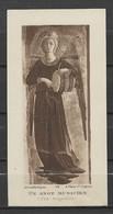 Image Pieuse Art Catholique N° 109 Un Ange Musicien - Fra Angelico.... - Devotieprenten