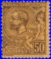Monaco 1891. ~ YT 18* - 40 C. Prince Albert 1er - Unused Stamps