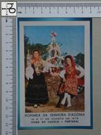 PORTUGAL - ROMARIA D'AGONIA -  VIANA DO CASTELO -   2 SCANS  - (Nº43990) - Viana Do Castelo