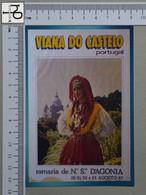 PORTUGAL - ROMARIA D'AGONIA -  VIANA DO CASTELO -   2 SCANS  - (Nº43993) - Viana Do Castelo