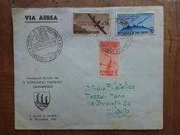 SAN MARINO - Convegno Filatelico 1946 - Su Busta + Spese Postali - Lettres & Documents