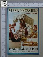 PORTUGAL - ROMARIA D'AGONIA -  VIANA DO CASTELO -   2 SCANS  - (Nº43997) - Viana Do Castelo