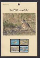 "1999  Barbados  WWF  ""Der Pfeifregenpfeifer"" Komplettes Kapitel - Collections, Lots & Series"