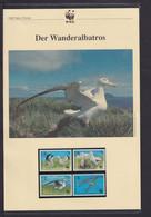 "1999  Tristan Da Cunha  WWF  ""Der Wanderalbatros"" Komplettes Kapitel - Lots & Serien"