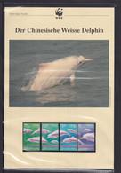 "1999  Hongkong  WWF  ""Der Chinesische Weisse Delphin"" Komplettes Kapitel - Lots & Serien"