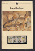 "2000  Israel  WWF  ""Der Afghanfuchs"" Komplettes Kapitel - Lots & Serien"