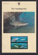 "2000 Tuvalu  WWF  ""Der Sandtigerhai"" Komplettes Kapitel - Lots & Serien"