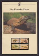 "2000 Indunesien WWF  ""Der Komodo-Waran"" Komplettes Kapitel - Lots & Serien"