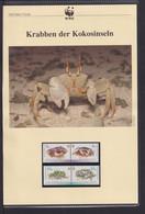"2000 Kokos Inseln  WWF  ""Krabben Der Kokosinseln"" Komplettes Kapitel - Lots & Serien"