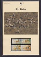 """2001 Kasachstan  WWF  """"Der Kulan"""" Komplettes Kapitel - Collections, Lots & Series"""