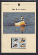 """2001  Aaland WWF  """"Die Scheckente"""" Komplettes Kapitel - Collections, Lots & Series"""