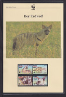 "2001  Eritrea  WWF  ""Der Erdwolf"" Komplettes Kapitel - Lots & Serien"